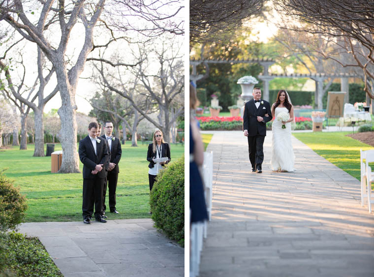 Crape Myrtle Allee Wedding