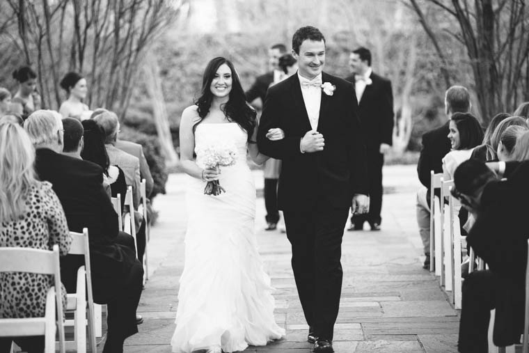 Dallas Arboretum Crape Myrtle Allee Wedding Photographer