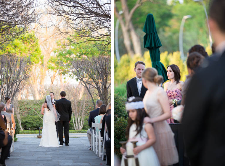 Dallas Arboretum Crape Myrtle Allee Wedding