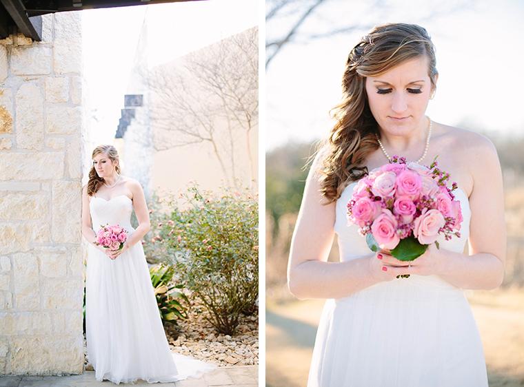 Grapevine Bridal Portraits
